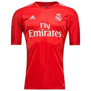 Camisa oficial Adidas Real Madrid 2017 2018 II Goleiro
