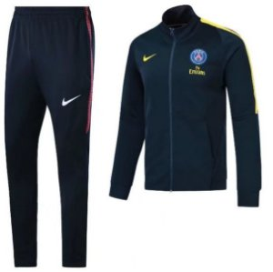 Kit treinamento oficial Nike PSG 2017 2018 Azul