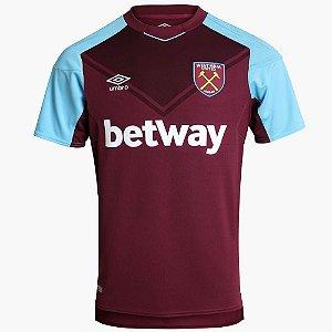 Camisa oficial Umbro West Ham 2017 2018 I Jogador