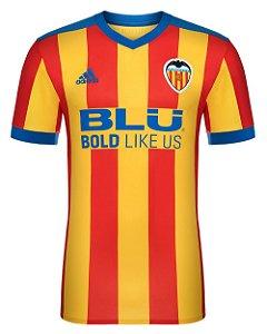 Camisa oficial Adidas Valencia 2017 2018 II jogador