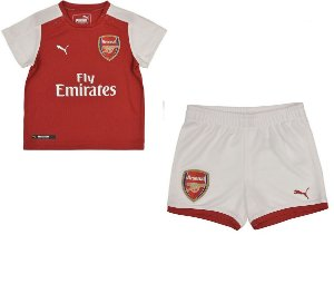 Kit infantil oficial Puma Arsenal  2017 2018 I jogador