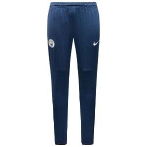 Calça de treino oficial Nike Manchester City 2017 2018 Azul
