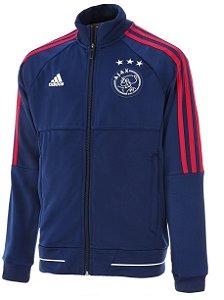 Jaqueta oficial Adidas Ajax 2017 2018 Azul