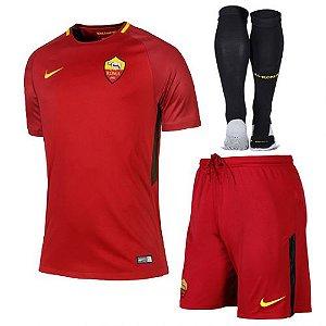 Kit adulto oficial Nike Roma 2017 2018 I jogador