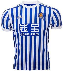 Camisa oficial adidas Real Sociedad 2017 2018 I jogador