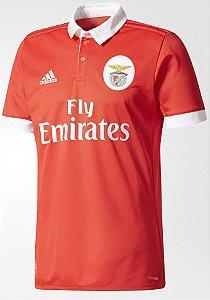 Camisa oficial Adidas Benfica 2017 2018 I jogador