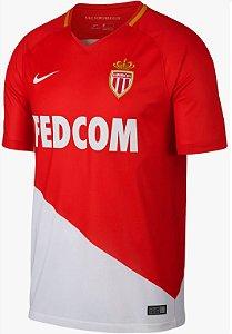 Camisa oficial Nike AS Monaco 2017 2018 I jogador
