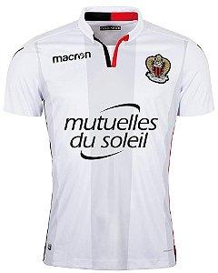 Camisa oficial Macron  OGC Nice 2017 2018 II jogador