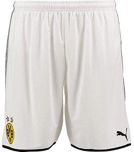 Calção oficial Puma Borussia Dortmund 2017 2018 III jogador