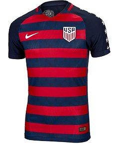 Camisa oficial Nike seleção dos Estados Unidos 2017 Copa Ouro