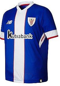 Camisa oficial New Balance Atletico de Bilbao 2017 2018 III jogador