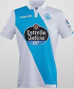 Camisa oficial Macron Deportivo La Coruña 2017 2018 II jogador