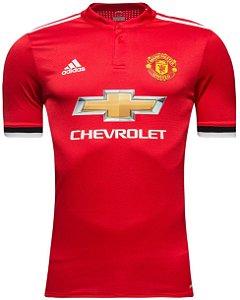 Camisa oficial Adidas Manchester United 2017 2018 I jogador