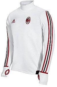 Blusão pre jogo oficial Adidas Milan 2017 2018 branco