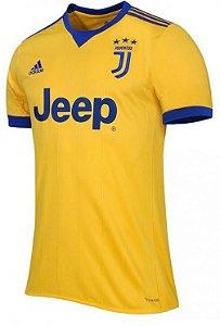 Camisa oficial Adidas Juventus 2017 2018 II jogador sem patch