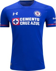 Camisa oficial Under Armour Cruz Azul 2017 2018 I jogador