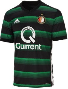 Camisa oficial Adidas Feyenoord 2017 2018 II jogador