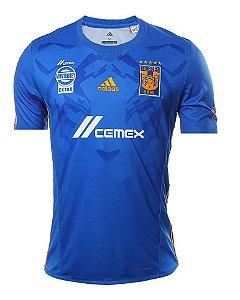 Camisa oficial Adidas Tigres UANL 2017 2018 II jogador
