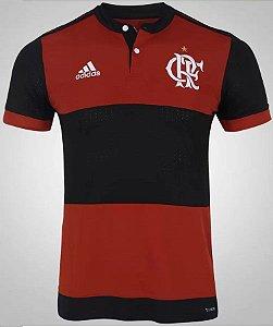 Camisa oficial Adidas Flamengo 2017 I jogador sem patrocinio