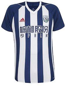 Camisa oficial Adidas West Bromwich Albion 2017 2018 I jogador