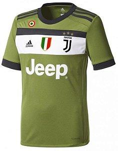 Camisa oficial Adidas Juventus 2017 2018 III jogador