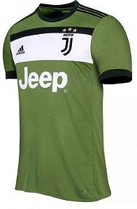 Camisa oficial Adidas Juventus 2017 2018 III jogador sem patch