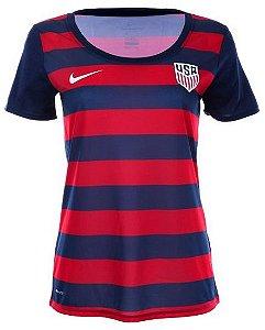 Camisa Feminina oficial Nike seleção dos Estados Unidos 2017 Copa Ouro