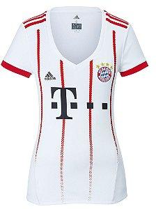 Camisa Feminina oficial Adidas Bayern de Munique 2017 2018 III