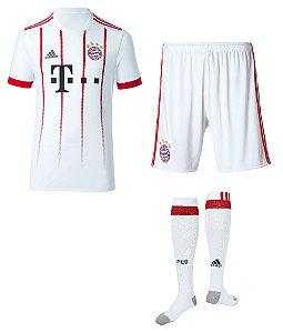 Kit adulto oficial Adidas Bayern de Munique 2017 2018 III jogador