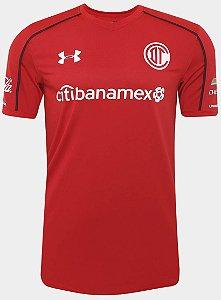 Camisa oficial Under Armour Toluca 2017 2018 I jogador