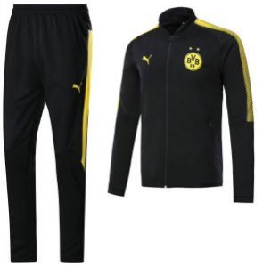 kit treinamento oficial Puma Borussia Dortmund 2017 2018 Preto