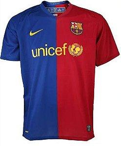 Camisa Nike Retro Barcelona 2008 2009 I jogador