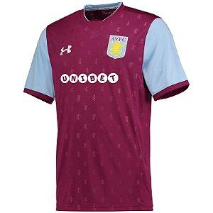 Camisa oficial Under Amour Aston Villa 2017 2018 I jogador