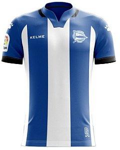 Camisa oficial Kelme Alaves 2017 2018 I jogador
