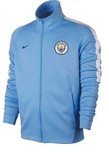 Jaqueta oficial Nike Manchester City 2017 2018 azul