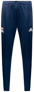 Calça de treino oficial Adidas Lyon 2017 2018 Azul