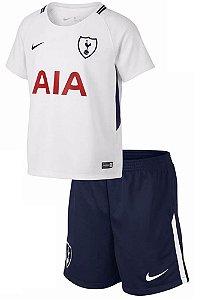 Kit oficial infantil Nike Tottenham 2017 2018 I jogador