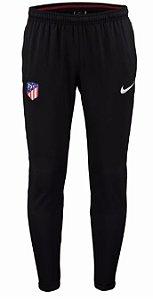Calça de treino oficial Nike Atletico de Madrid 2017 2018 preta