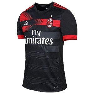 Camisa oficial Adidas Milan 2017 2018 III jogador