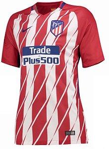 Camisa feminina oficial Nike Atletico de Madrid 2017 2018 I