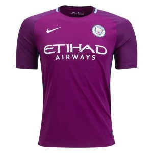 Camisa oficial Nike Manchester City 2017 2018 II jogador