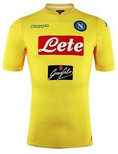 Camisa oficial Kappa Napoli 2017 2018 II jogador