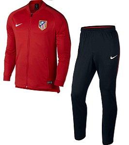 Kit treinamento oficial Nike Atletico de Madrid 2017 2018 vermelho