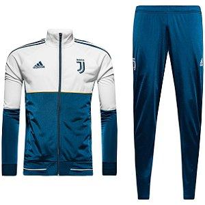 Kit treinamento oficial Adidas juventus 2017 2018 Azul e Branco