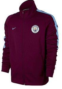 Jaqueta oficial Nike Manchester City 2017 2018 Vermelho