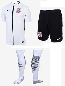 Kit adulto oficial Nike Corinthians 2017 I jogador