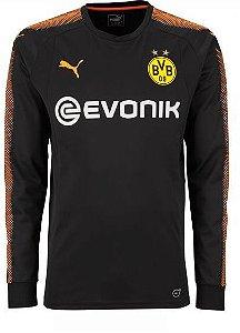 Camisa oficial Puma Borussia Dortmund 2017 2018 I goleiro
