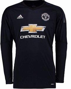 Camisa oficial Adidas Manchester United 2017 2018 I goleiro