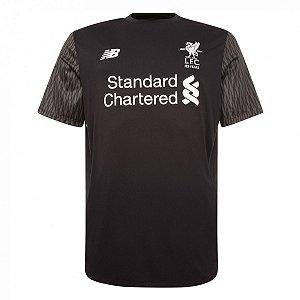 Camisa oficial New Balance Liverpool 2017 2018 II Goleiro