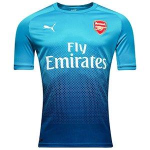 Camisa oficial Puma Arsenal 2017 2018 II jogador